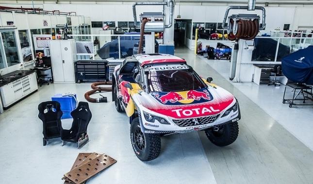 Imagen El Peugeot 3008 DKR desvela sus colores para el Dakar 2017
