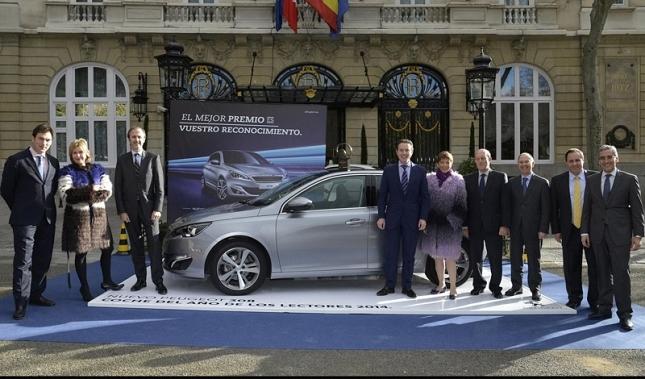 Imagen Peugeot 308 elegido Coche del Año de los Lectores