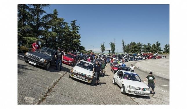 Imagen 30 aniversario del Peugeot 205
