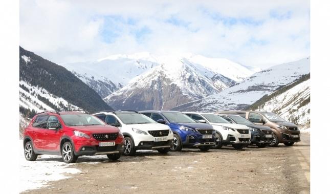 Imagen La gama SUV líder se enfrenta con éxito a la nieve, el hielo y el barro en el Valle de Arán
