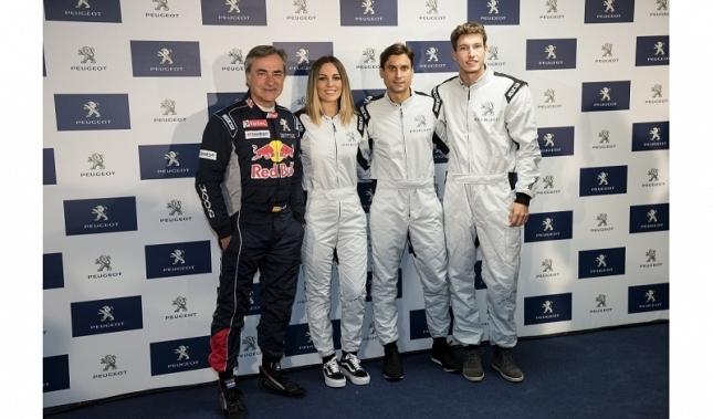 Imagen Ya es oficial, Edurne nueva embajadora de Peugeot