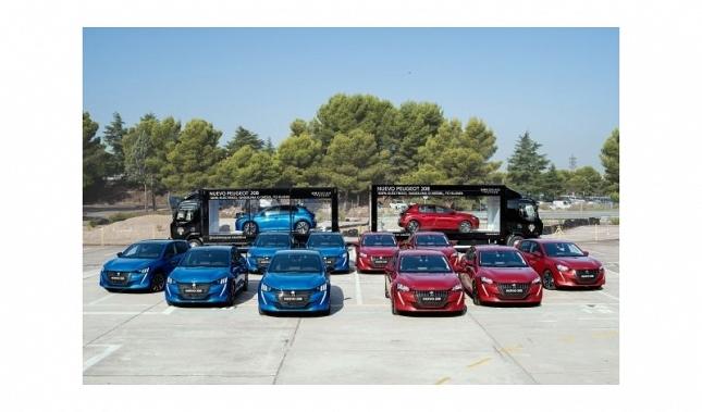Imagen El Nuevo Peugeot 208 recorre España a pocas semanas de su lanzamiento comercial