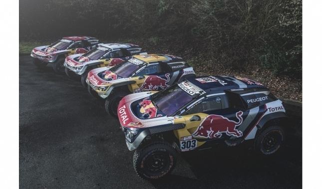 Imagen El Peugeot 3008DKR Maxi aspira a la victoria en el Dakar