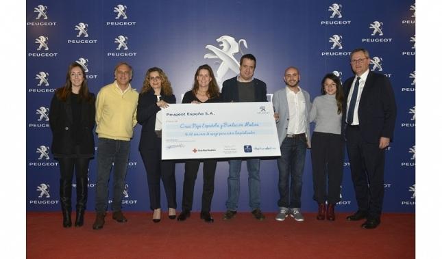 Imagen Las Revisiones Solidarias Peugeot recaudan 96.530 sesiones de apoyo para niños hospitalizados