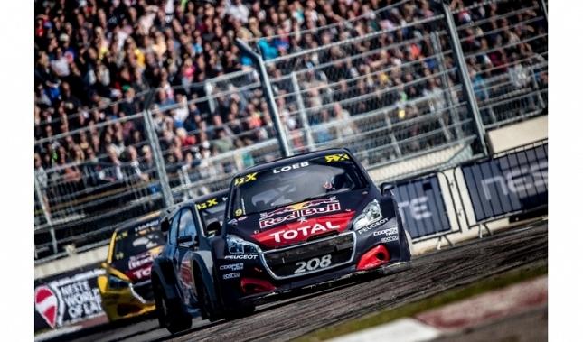 Imagen Nuevo podio de Sébastien Loeb y Peugeot en Riga