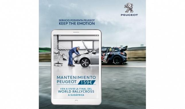 Imagen El mantenimiento Peugeot te lleva a la Final del Mundial de Rallycross en Sudáfrica