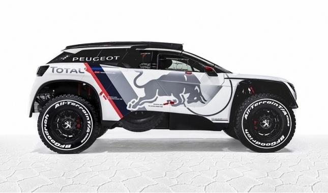 Imagen El nuevo Peugeot 3008 DKR saldrá a por todas en el Dakar 2017