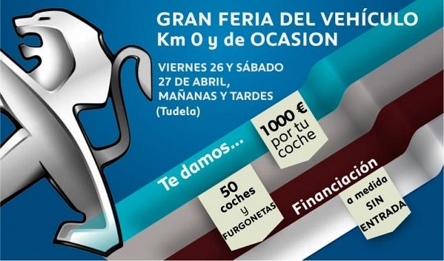 Imagen I Feria del Vehículo de Ocasión y Km 0 en Tudela