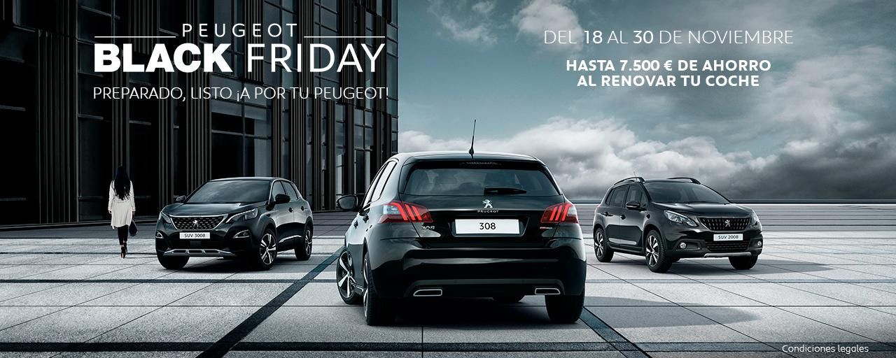 promo peugeot black friday