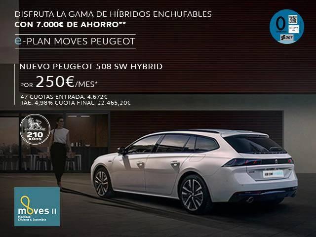 nuevo 508sw hybrid navarra